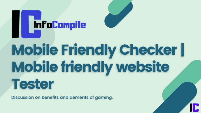Mobile Friendly Checker | Mobile friendly website Tester